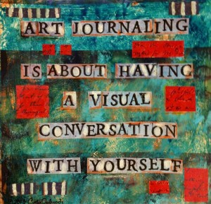 Art Journaling Is