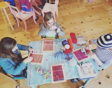 weaving kids